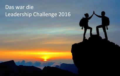 Das war die Leadership Challenge 2016