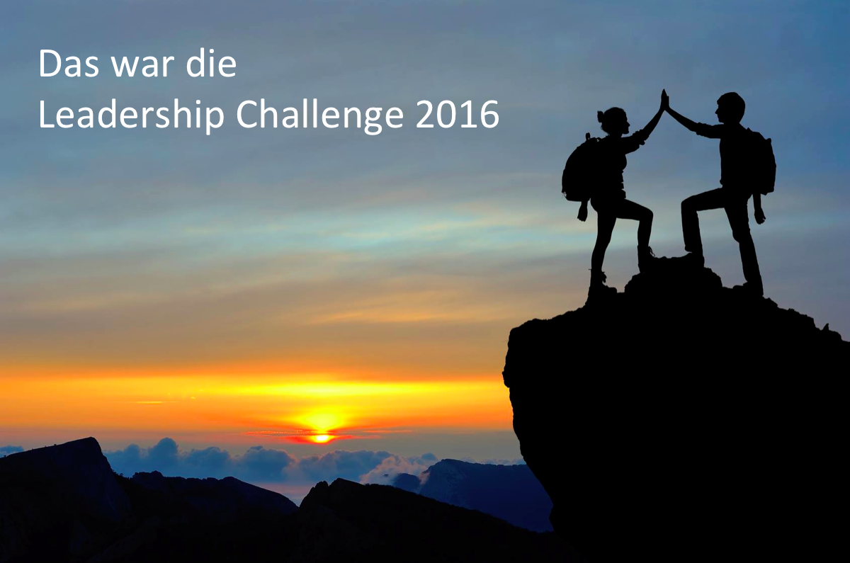 Das war die Leadership Challenge 2016